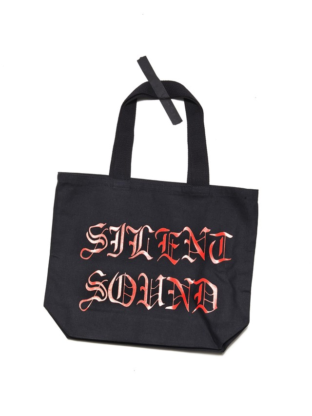 SILENT SOUND Silent Sound Tote Bag Black / Red SSTB008