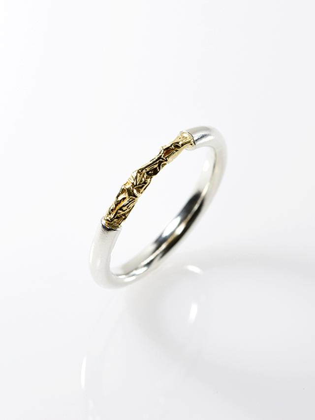[リング] crumpled ring / Type2 Silver