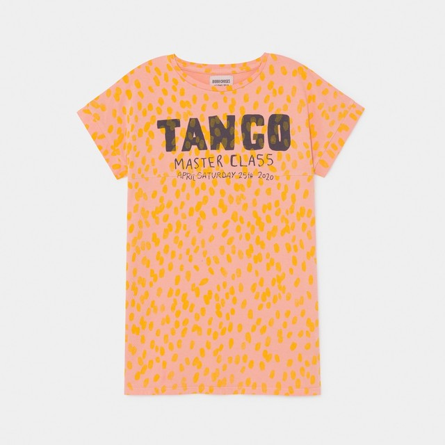 《BOBO CHOSES 2020SS》Tango T-Shirt Dress / 2-9Y