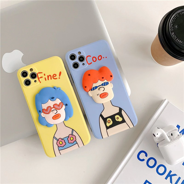 3D Swimsuit Funny girl iphone case