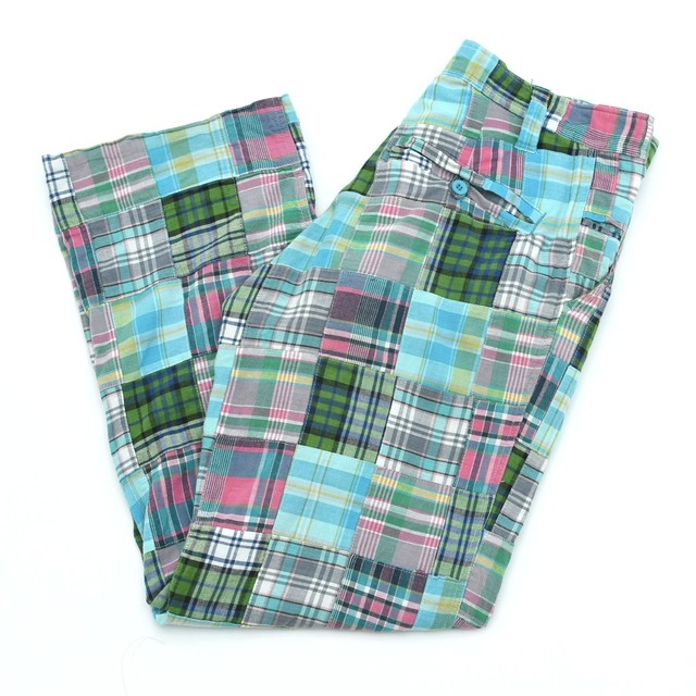 00s CLH CLENCH check patchwork slacks
