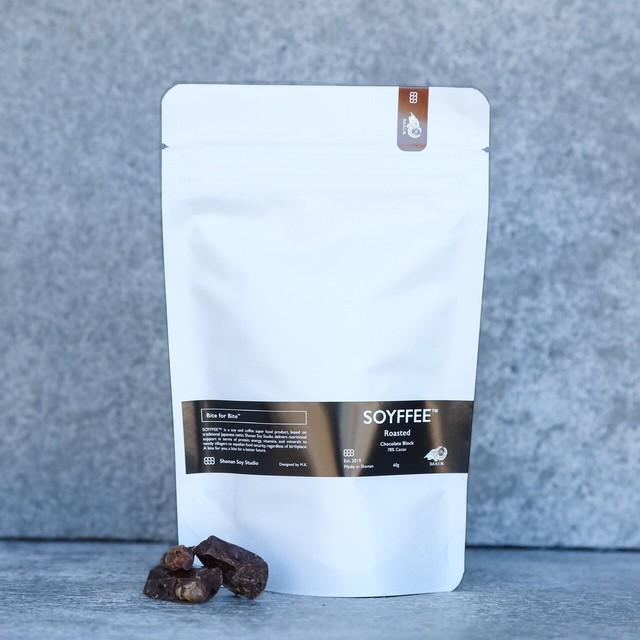 【5%OFF:詰替え用紙パック】SOYFFEE™ Roasted Chocolate Block 60g