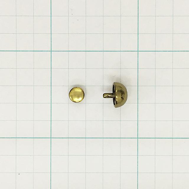 底鋲半丸14mm Bプラ(10ヶ入)