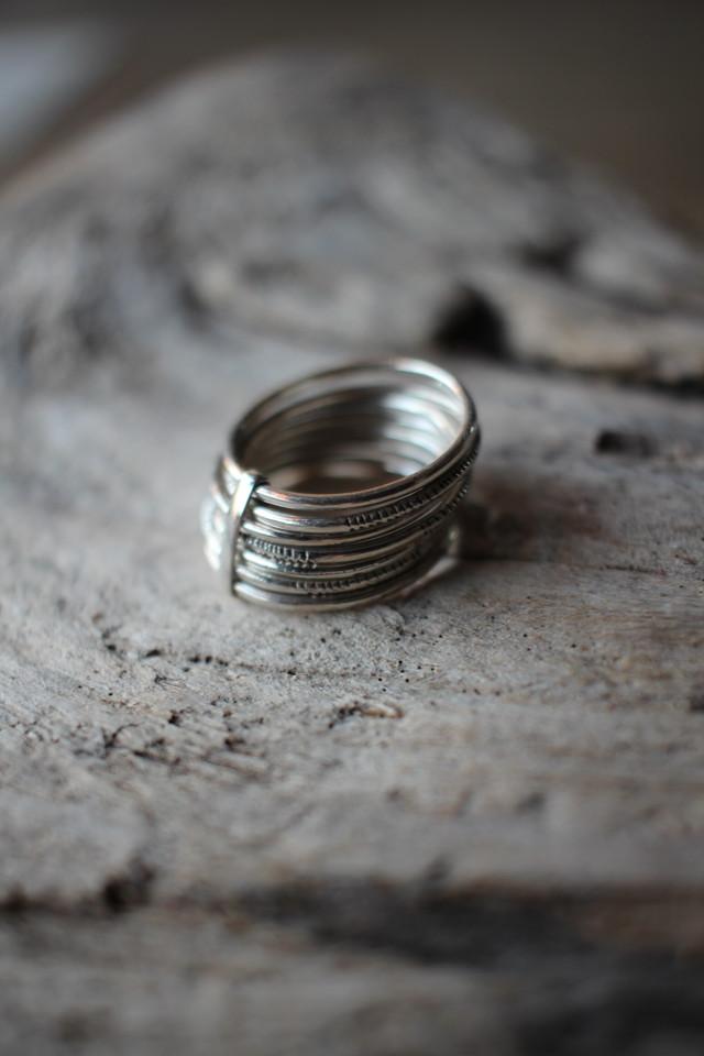 【touareg silver】ring-C