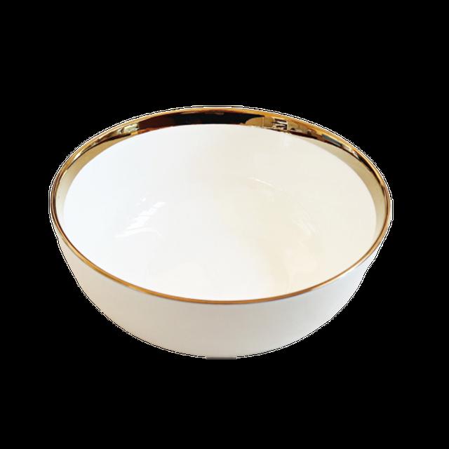 Gold line bowl  17㎝ / ゴールド ライン ボウル