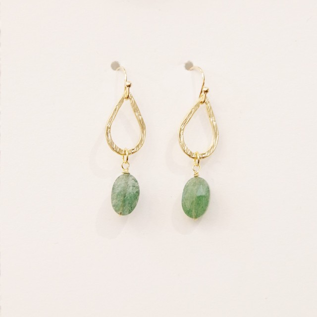 Green Natural Stone Pierce