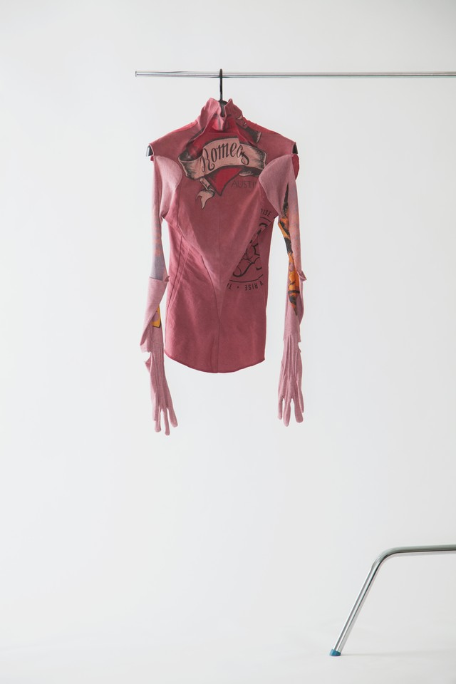 【FW20 先行受注】deadbodysuit  〈burgundy / purple〉