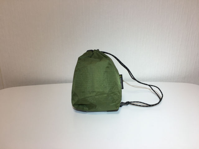 【Paagoworks】 W-face Staff bag 1(moss green)