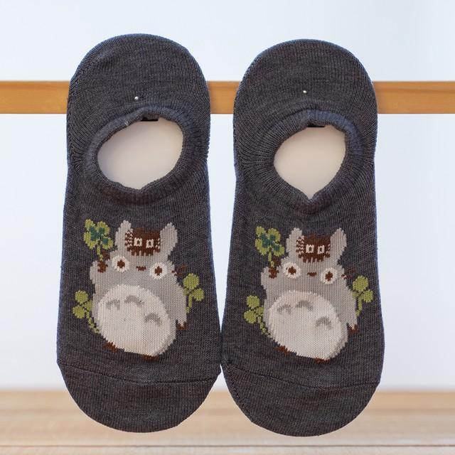 となりのトトロ 靴下・ソックス 23~25cm(3774)