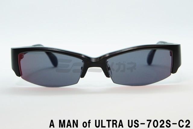A MAN of ULTRA×BLACK ICE US-702S-C1 円谷プロダクション ウルトラセブン コラボアイウェア