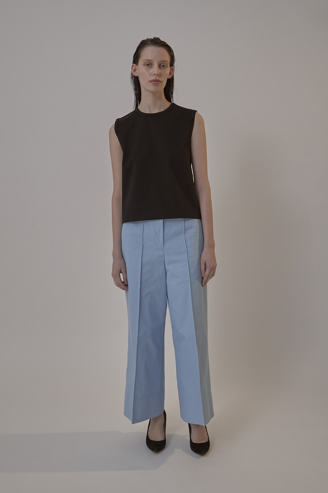 TWILL BAGGY PANTS