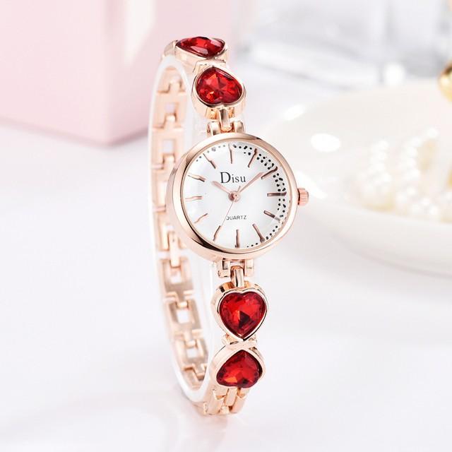 DISU LT-D4067(red) レディース腕時計