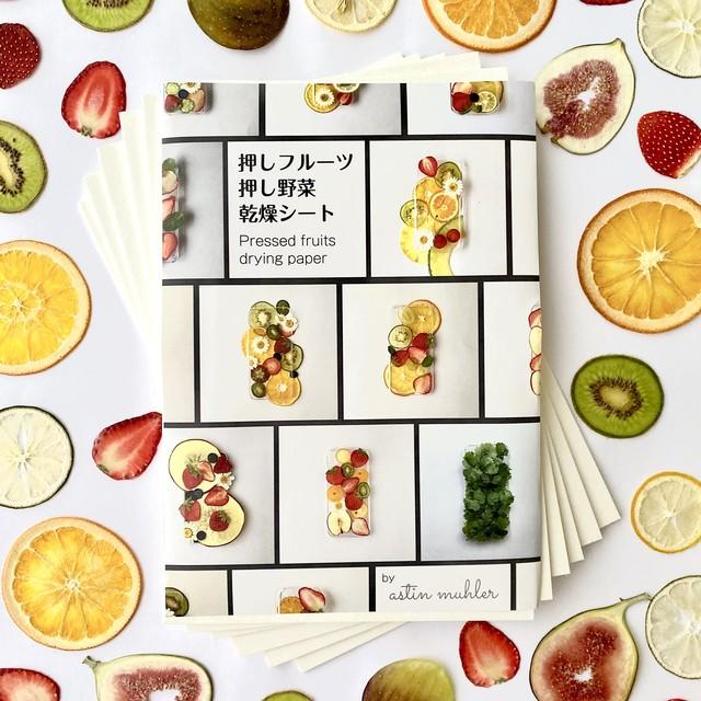 押しフルーツ・押し野菜乾燥シート