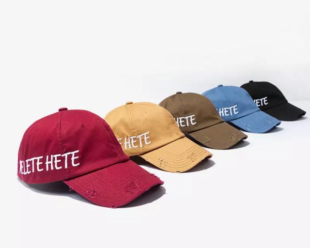 【STREET】DELETEデザインキャップ 5カラー