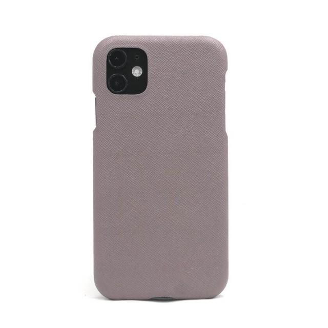 【レッドグレー】シンプルケース iPhone / Galaxy / Xperia /  Googlepixel / Huawei / Oppo Reno / AQUOS