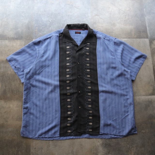 two-tone front line shirt