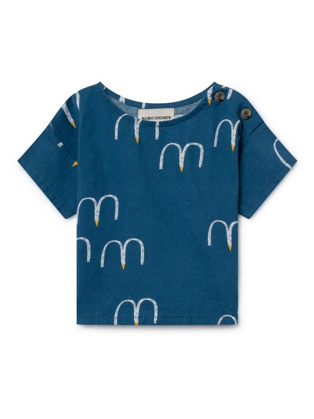 ボボショセス(BOBO CHOSES) bird short sleeve shirt[12-18m/18-24m]