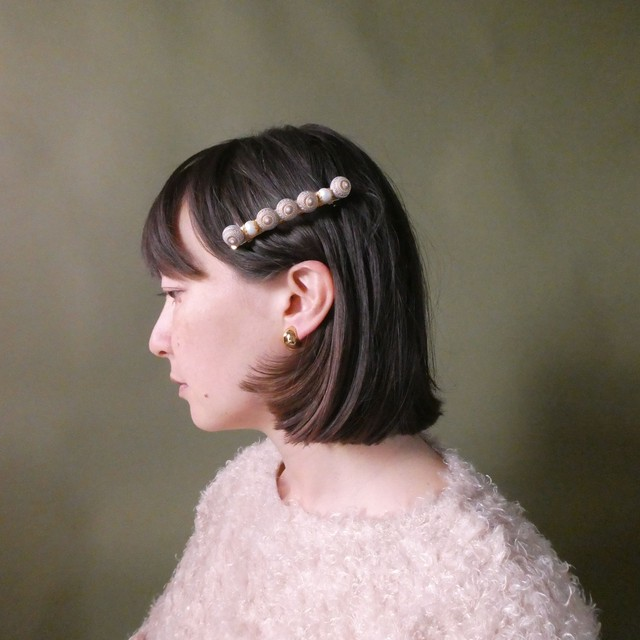 the knit + vintage collection 4 the pearl hair clip edition 1