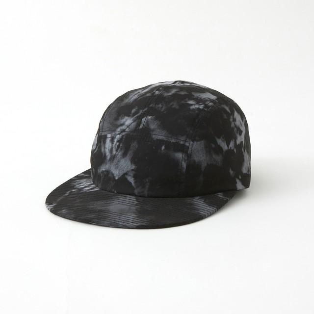 TIE DYE PRINTED JET CAP - BLACK