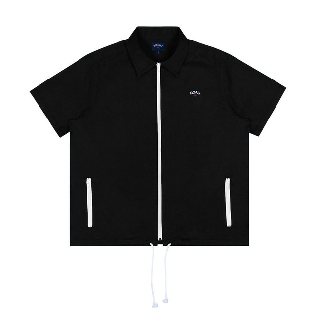 Zip Work Shirt(Black)