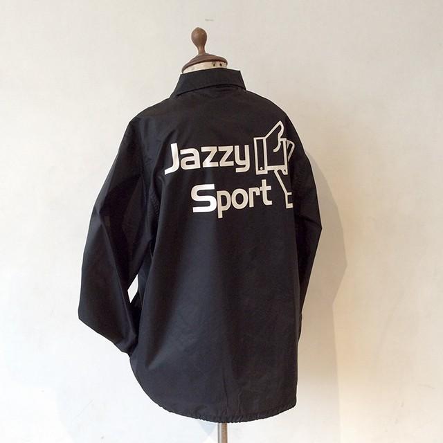 【ラスト1/旧モデル】JSロゴ コーチジャケット/ブラック