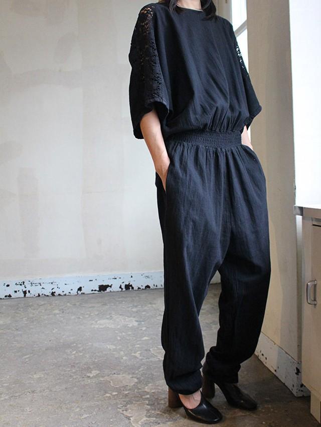 70s cotton Jumpsuit
