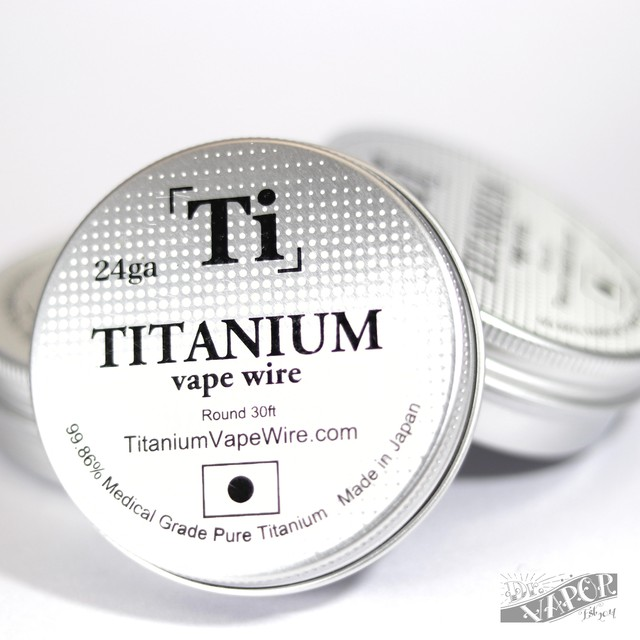 Titanium Vape Wire 26G-28G(Made in Japan)
