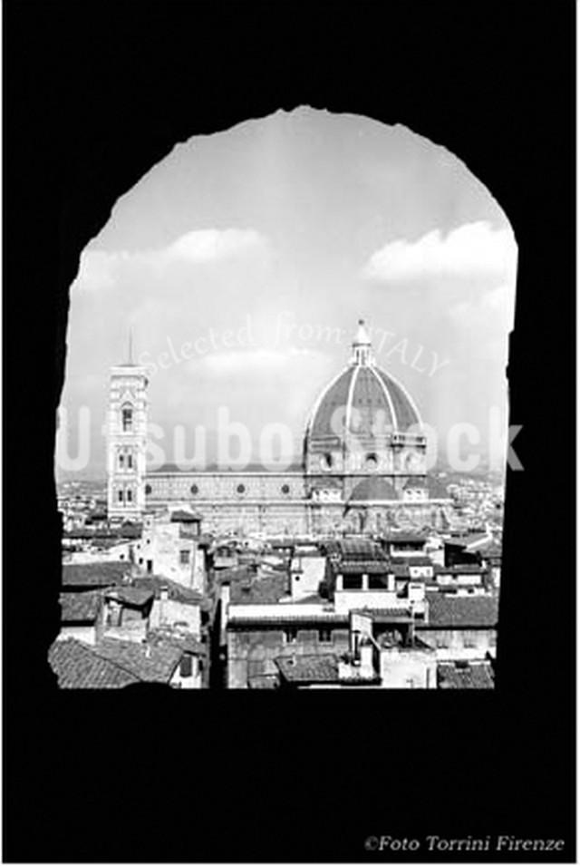 1958年撮影 フィレンツェ 大聖堂 シンボル ドーム【408195801】