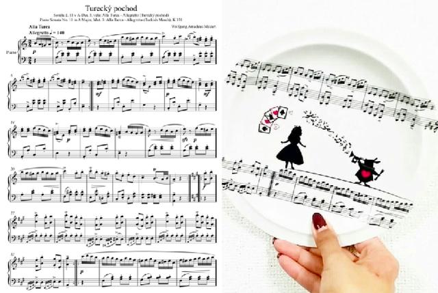 楽譜 転写紙