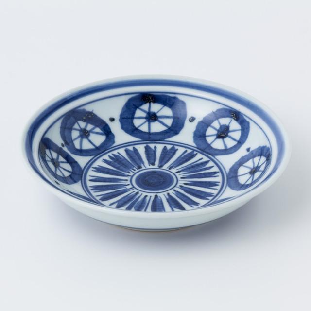 縁付深皿(新丸紋)