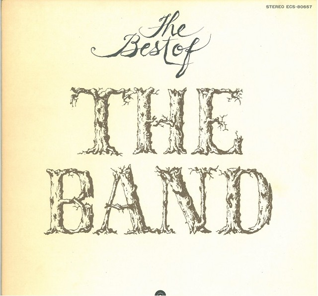THE BAND / THE BEST OF THE BAND(LP) 日本盤