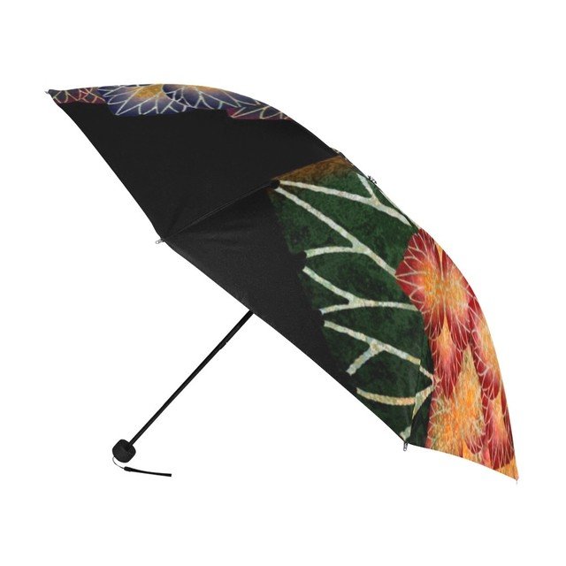 紫陽花 折りたたみ日傘