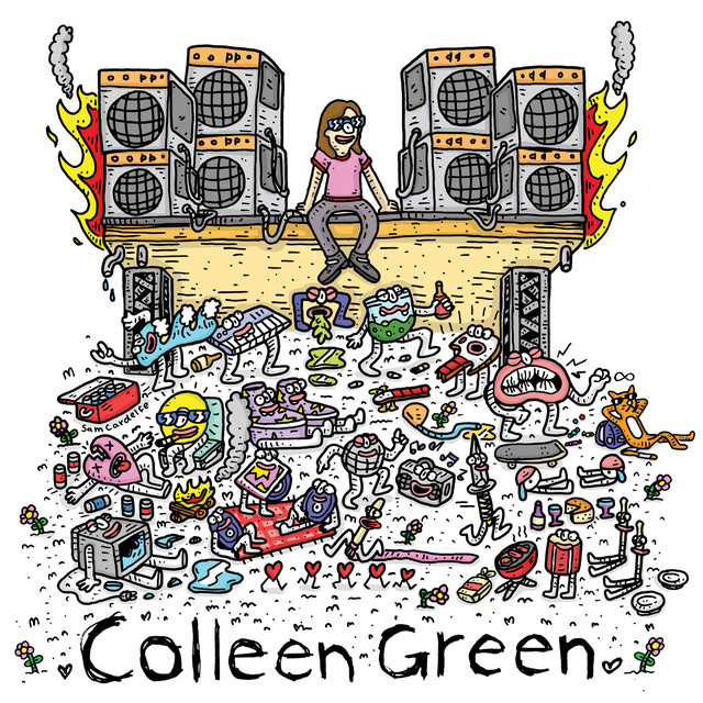 Colleen Green ‎/ Casey's Tape / Harmontown Loops(Ltd LP)