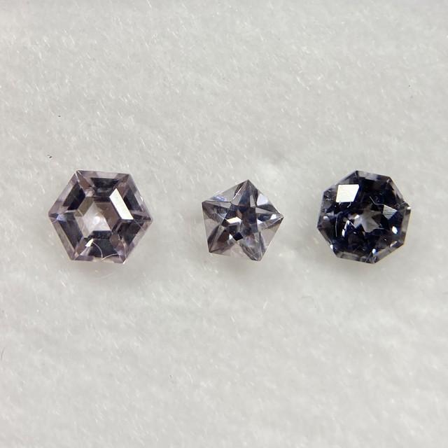 星のブーケ グレー系 約3.4mm 3.2mm 3.0mm r-0164