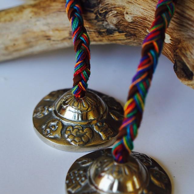 BLUEARTH Tibetan Tingshaw-8 Luckey Symbols  ティンシャ  チベッタン8ラック