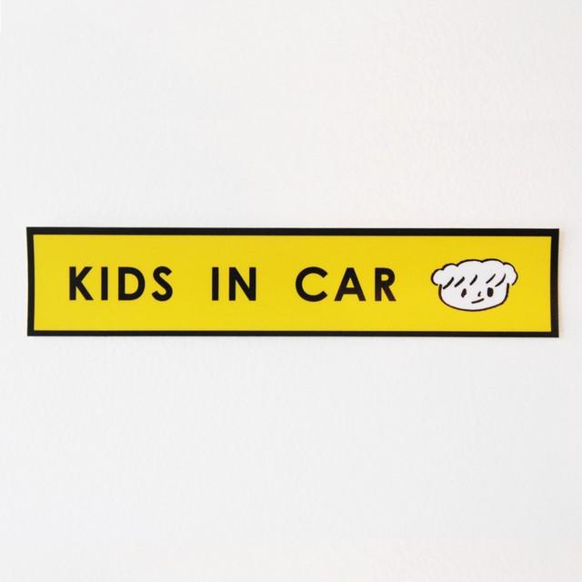 KIDS IN CAR 車ステッカー