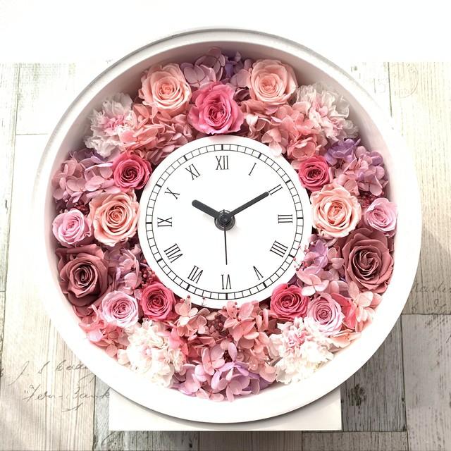 ◆受注制作◆ 花時計 グリーンA