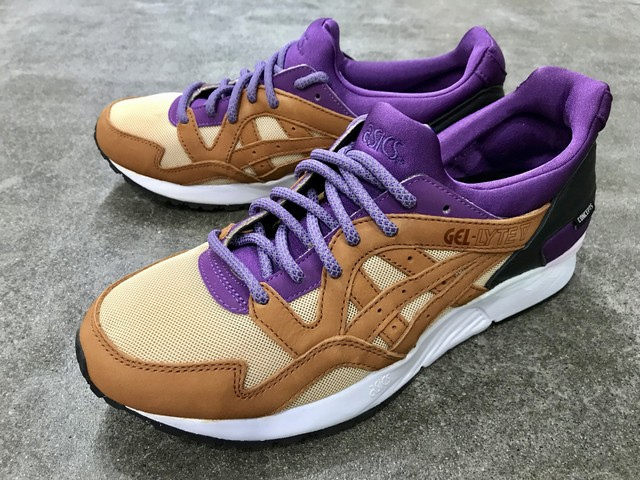 ASICS x CONCEPTS GEL LYTE V (PURPLE/CHESTNUT)