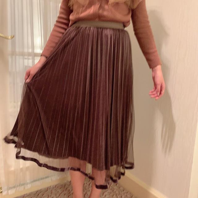 natural tulle skirt