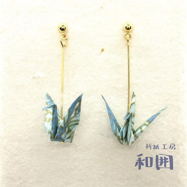 美人鶴のポストピアス【001】