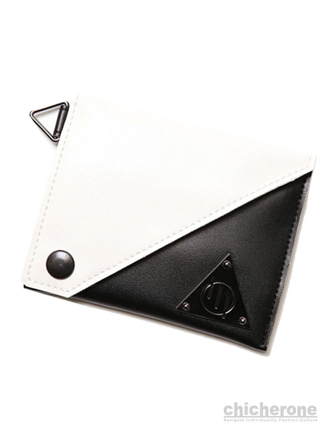 【SILLENT FROM ME】RICH -Card Case- BLACK/WHITE