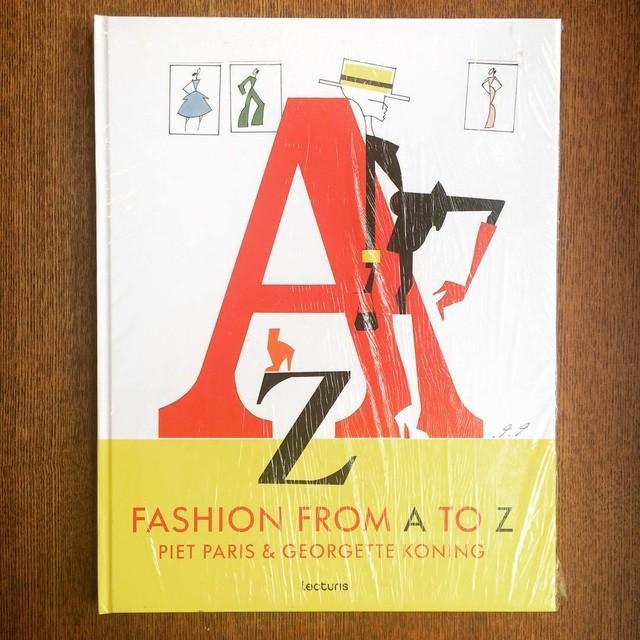 ファッション用語イラスト集「Fashion from A to Z/Piet Paris、Georgette Koning」 - メイン画像