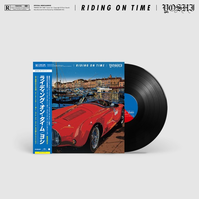"""RIDING ON TIME"" - 12inch Record"
