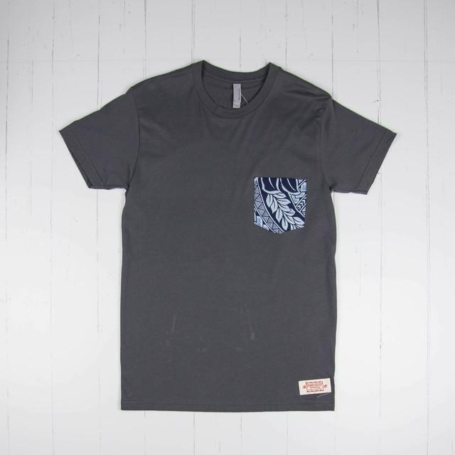Tシャツ Kekoa Blue TG239 Gray/サイズS・M・XL