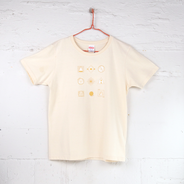 TshirtsComplex|Yukako Tanaka「geometric pattern」(ナチュラル)
