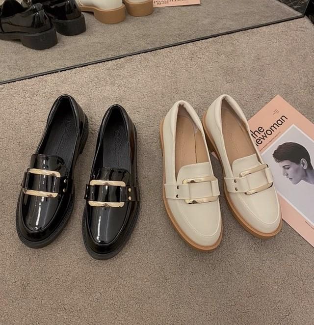belt loafer 2color