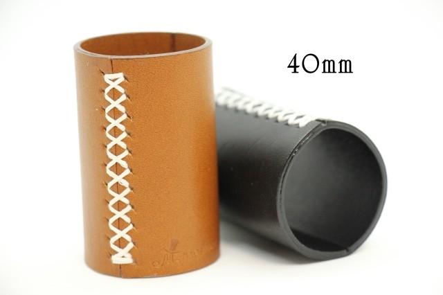オリジナル革製シリンダー (40mmコイン用サイズ)