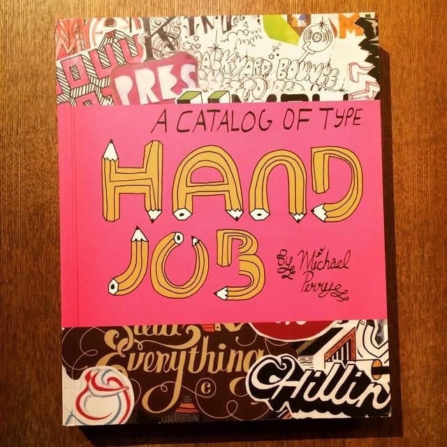 作品集「Hand Job: A Catalog of Type」 - メイン画像