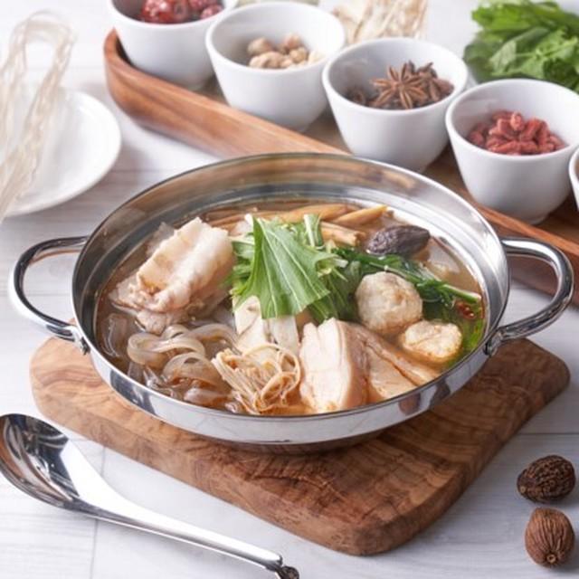 【台湾/Cozy Hot Pot 8】台湾薬膳火鍋 辣香(ラーシャン)スープ(1kg/約2~3人前)*スープのみのご提供