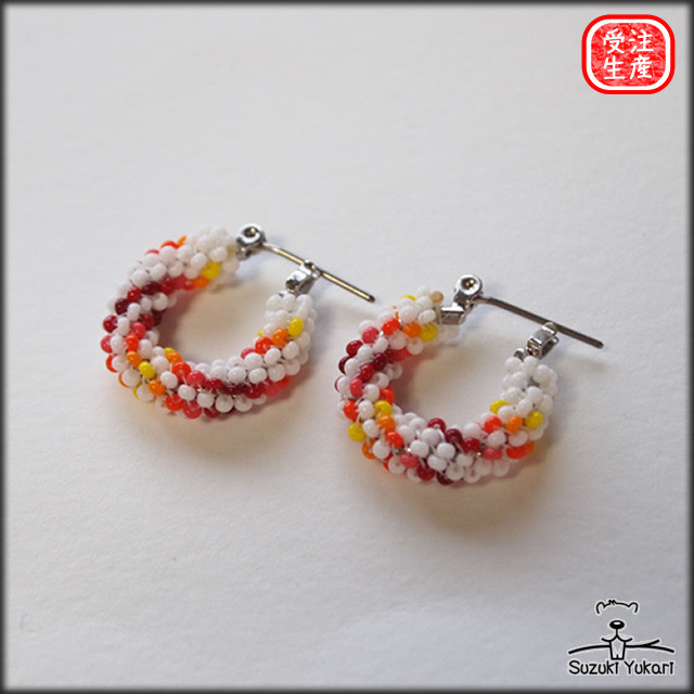 Beads Work Earring  / BER-003